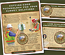 Allegheny Surveys ad designs