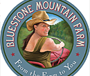 Bluestone Mountain Farm logo illustration
