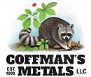 Coffman's Metals logo illustration