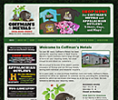 Coffman's Metals website design - www.coffmansmetals.net