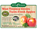 Ott's Orchard ad design