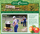 Ott's Orchard website design - www.ottsorchard.com