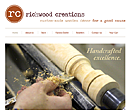 Richwood Creations website design - www.richwood-creations.com
