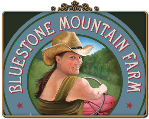 bluestone mountain farm logo