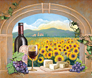 Tuscan Mat Illustration